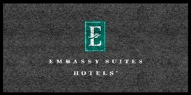 Embassy Suites & Hotels front desk floor mat 4' x 8', No. 778-01/48/33