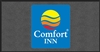Front desk area Comfort Inn floor mat 4' x 8', No. 778-01/48/50