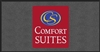 Front desk area Comfort Suites floor mat 4' x 8', No. 778-01/48/52