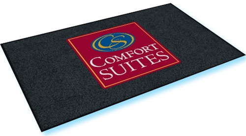 Comfort Suites Double Door Entry Floor Mat 4 X 6 Nylon No