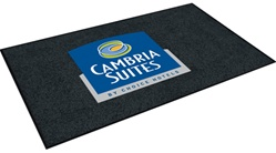 Nylon entrance floor mat, 4' x 6', Cambria Suites