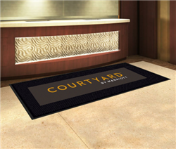 Courtyard by Marriott SuperScrape™ rubber outdoor mat 3' x 10', No. 778-02/310/05