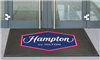 Hampton Inn SuperScrape™ rubber outdoor mat 4' x 6'