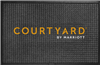 Courtyard WaterHog Inlay outdoor entry mat 2' x 3', No. 778-06/23/05