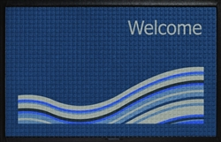 Fairfield Inn WaterHog outdoor entry mat 4' x 6' - wave design, No. 778-06/46/20