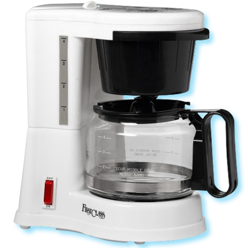 How To Use Jerdon Coffee Maker : Jerdon First Class 4 cup coffee maker, white. No. 780-CM410WD
