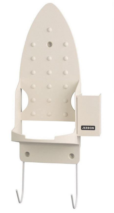 Jerdon Ironing Board Holder With Hooks Only