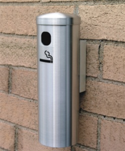 Glaro Deluxe Series 12 Quot Wall Mounted Smokers Receptacle