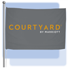 Courtyard by Marriott 4'x6' flag, No. 824-C46/05