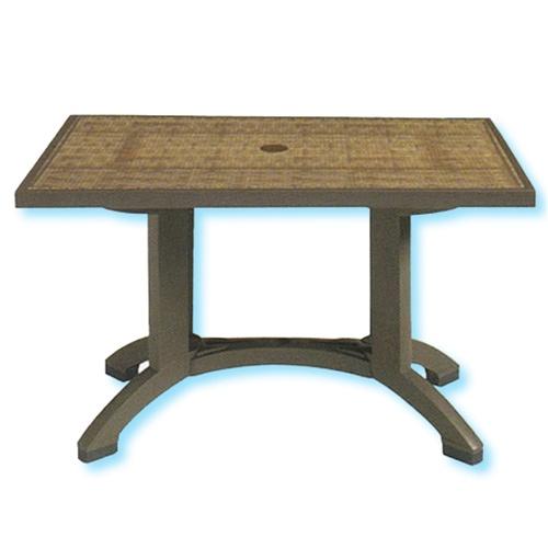 Grosfillex havana 48 x 32 square folding table watchthetrailerfo