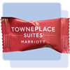 TownePlace Suites peppermint soft candies in individual hot-stamped packaging