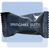 SpringHill peppermint soft candies in individual hot-stamped packaging