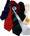 Solid color ties, 100% polyester, No. 843-SD00